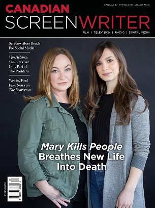 Canadian Screenwriter Spring 2018 image